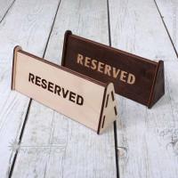 Табличка на стол двухсторонняя (TB-001)